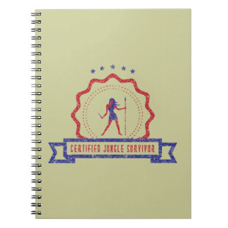 Jungle Woman Seal Notebook