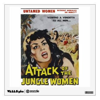 Jungle Women Wall Sticker