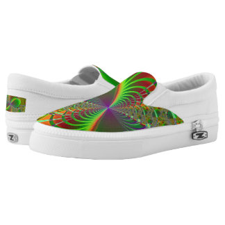 Jungle Zipz Slip On Shoes Printed Shoes