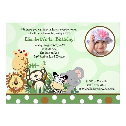1,000+ Jungle Birthday Invitations, Jungle Birthday