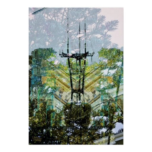 jungled tower poster