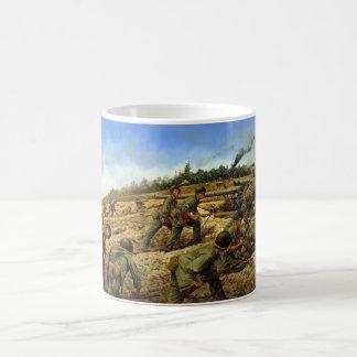 Jungleers on Biak by Keith Rocco Coffee Mug