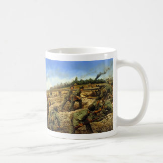 Jungleers on Biak by Keith Rocco Classic White Coffee Mug