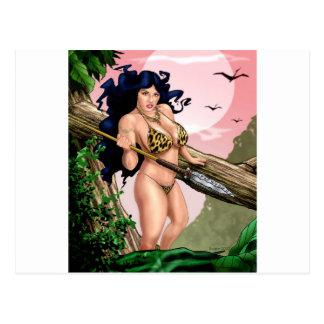 JungleGirl Postcard