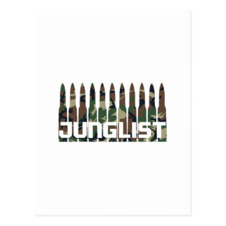 Junglist Camouflage Postcard