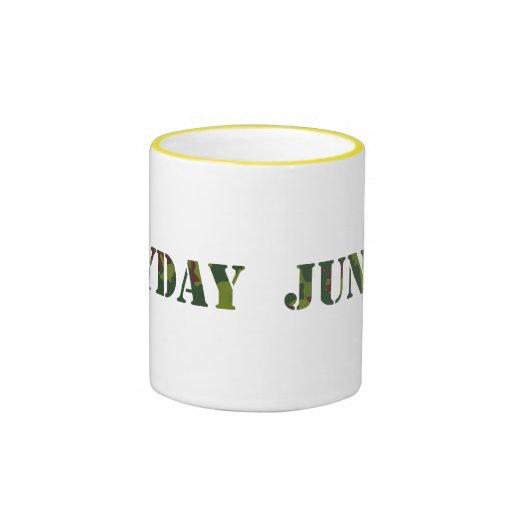 Junglist diario taza de dos colores