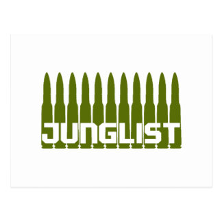 Junglist Green Post Card