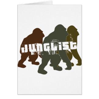 Junglist original tarjeta de felicitación