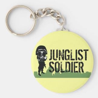 Junglist Soldier Keychain