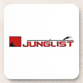 Junglist Turntable Beverage Coaster