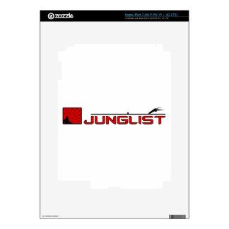 Junglist Turntable Skin For iPad 3