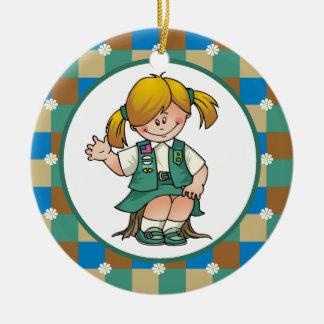 Junior 5 christmas ornament