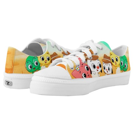 Junior and Friends Low-Top Sneakers
