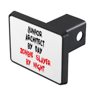 Junior Architect Zombie Slayer Tow Hitch Covers