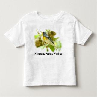 Junior Birder Tee-Shirt - Parula (front and back) Toddler T-shirt