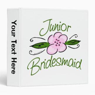 Junior Bridesmaid 3 Ring Binder