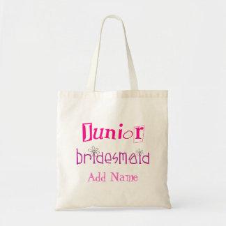 Junior Bridesmaid Budget Tote Bag