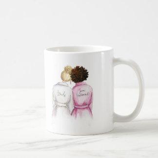 Junior Bridesmaid? Bl Bun Bride Auburn Curls Maid Coffee Mug