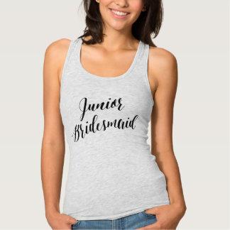 Junior Bridesmaid Black Script Shirt
