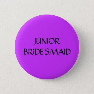 JUNIOR BRIDESMAID - button