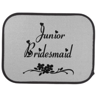 Junior Bridesmaid Car Floor Mat