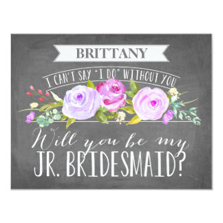 Junior Bridesmaid Card | Bridesmaid