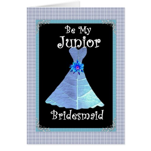 Junior Bridesmaid Customizable Greeting Card