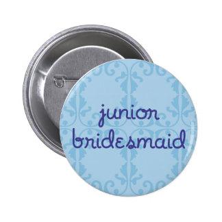 Junior Bridesmaid (Design 3) Button
