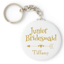 Junior Bridesmaid Gifts Keychain