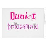 Junior Bridesmaid Greeting Card