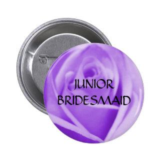 JUNIOR BRIDESMAID- lavender rose button