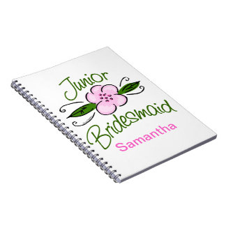 Junior Bridesmaid Notebook