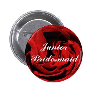 Junior Bridesmaid Pinback Button
