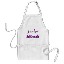 Junior Bridesmaid Simply Love Adult Apron