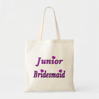 Junior Bridesmaid Simply Love Canvas Bags