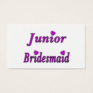 Junior Bridesmaid Simply Love Business Card