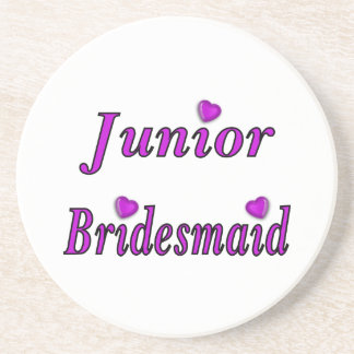 Junior Bridesmaid Simply Love Sandstone Coaster