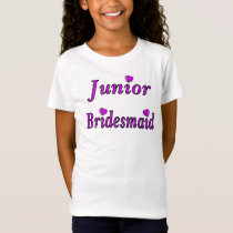 Junior Bridesmaid Simply Love T-Shirt