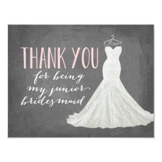 Junior Bridesmaid Thank You | Bridesmaid Card