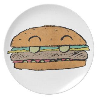 Junior Burger Plate