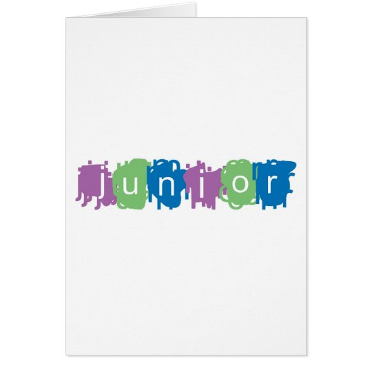 Junior Card