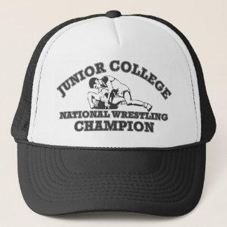 Junior College Wrestling Champion Hat
