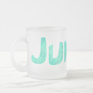 Junior Frosted Glass Coffee Mug