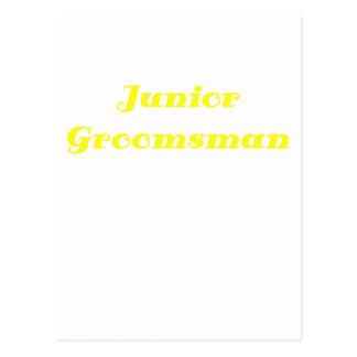 Junior Groomsman Postcard