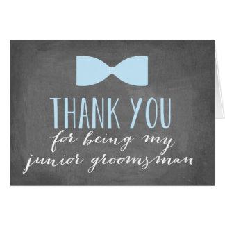 Junior Groomsman Thank You | Groomsman Stationery Note Card