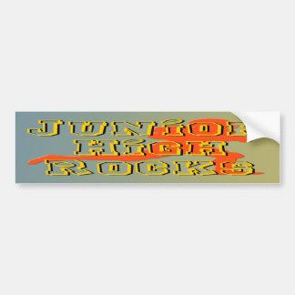 Junior High Rocks - Football Car Bumper Sticker