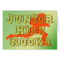 Junior High Rocks - Football Card