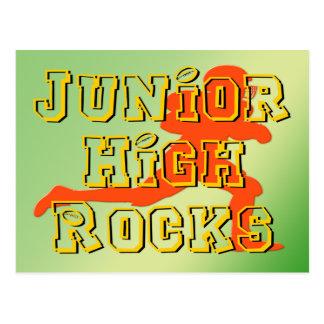 Junior High Rocks - Football Postcard