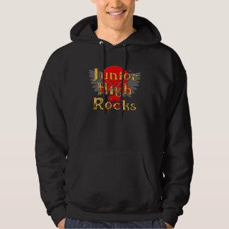 Junior High Rocks - Skull Wings Hoodie