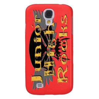 Junior High Rocks - Skull Wings  Samsung Galaxy S4 Case